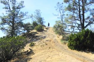 Ascending to Eagle Peak