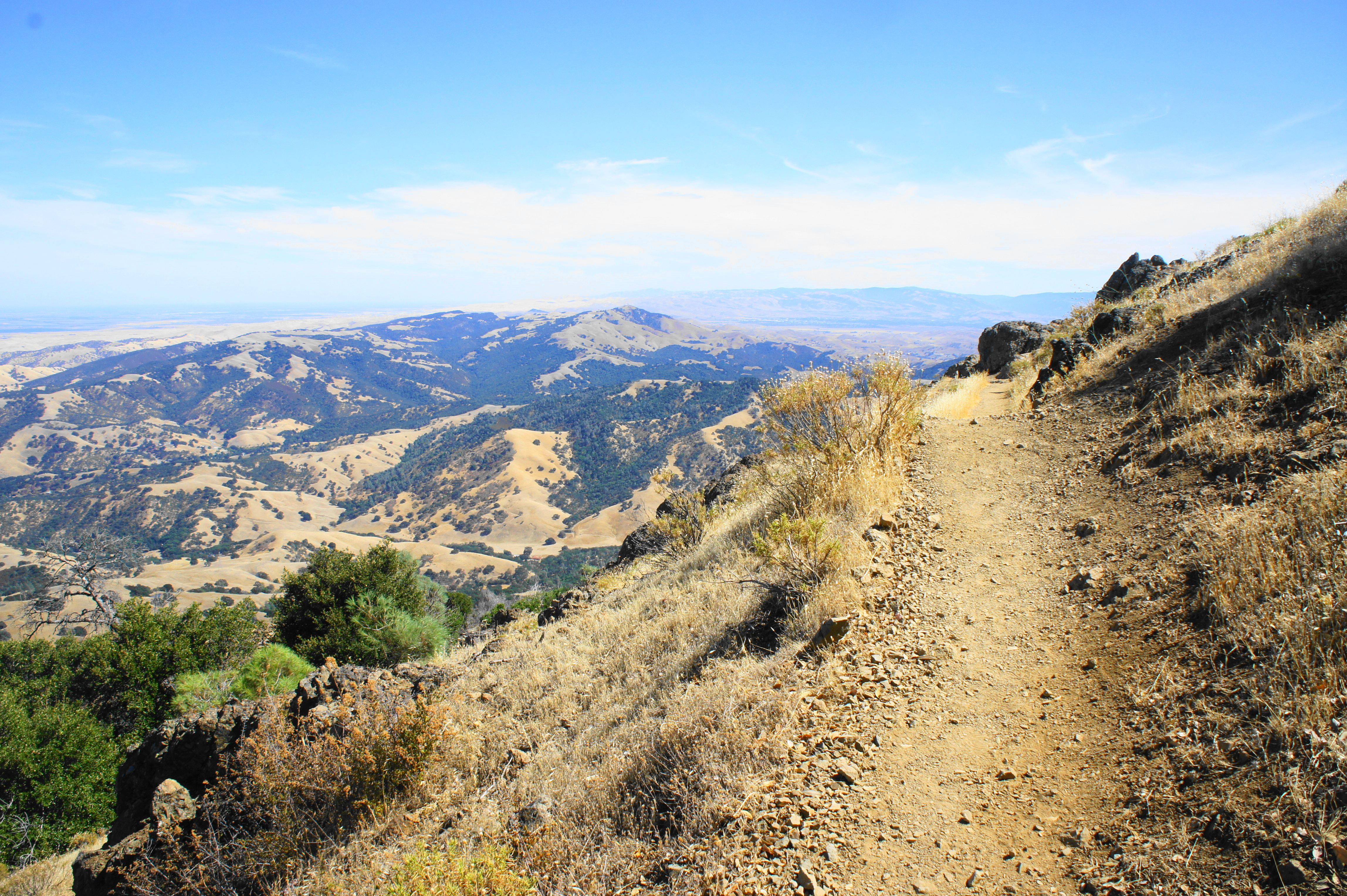 Mount Diablo Via Eagle Peak And Mitchell Canyon Mount Diablo State Park Ca Live And Let Hike