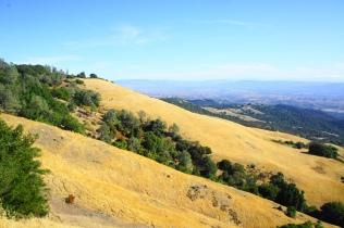 Beautiful west-facing hillsides