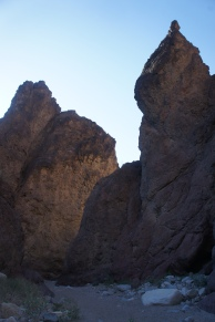 High spires in White Rock Canyon