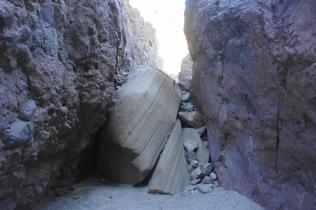Chockstone and bypass